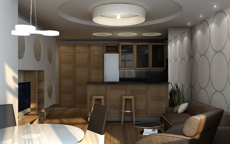 Квартира. гостиная из проекта , фото №10695