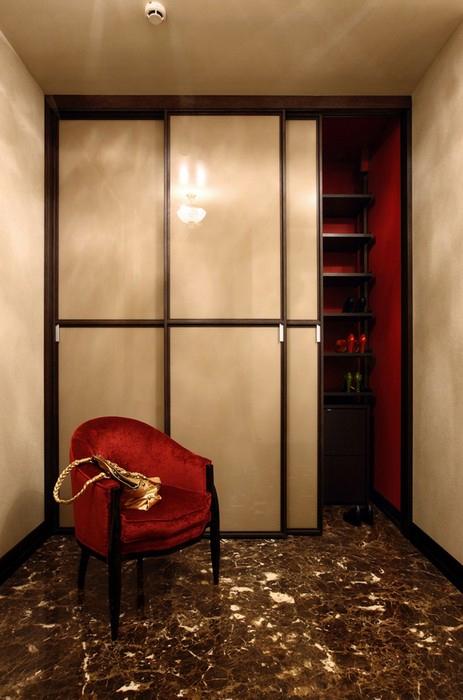 Квартира. спальня из проекта , фото №10700