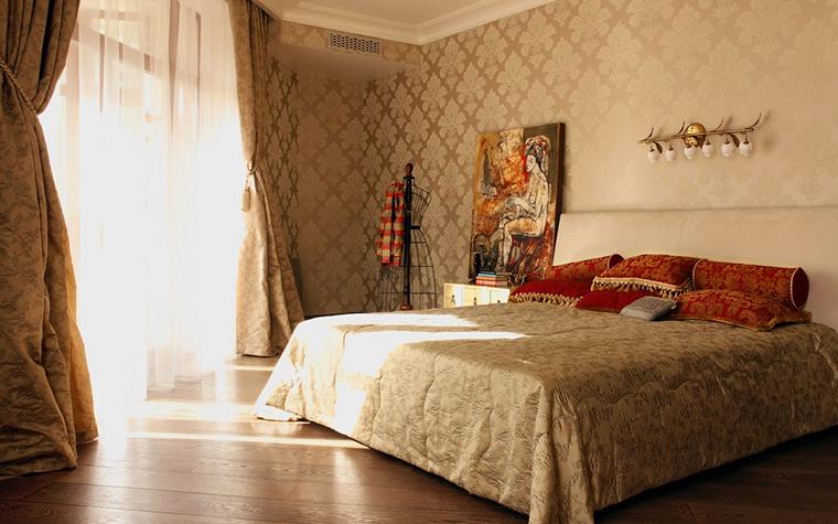 Квартира. спальня из проекта , фото №10701