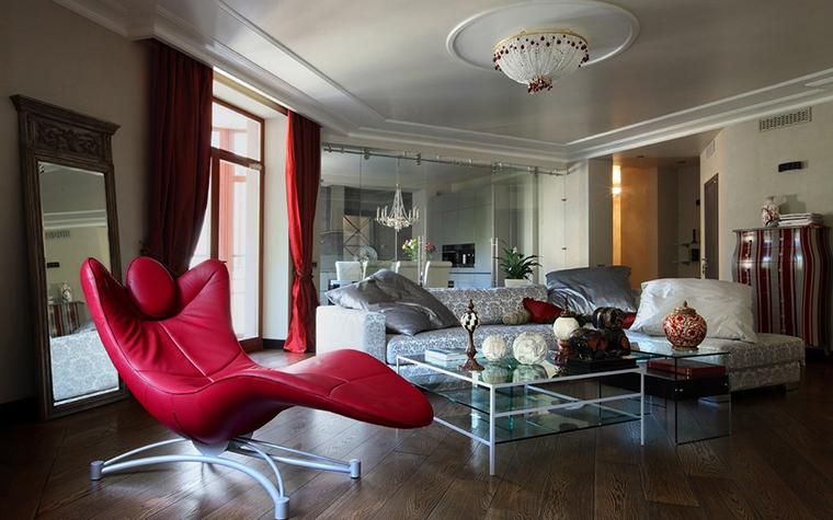 Фото № 10696 гостиная  Квартира