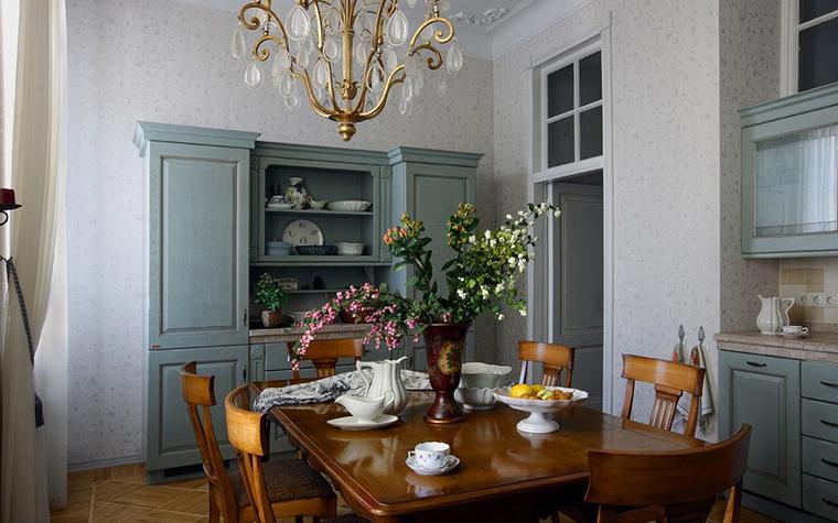 Фото № 10760 кухня  Квартира