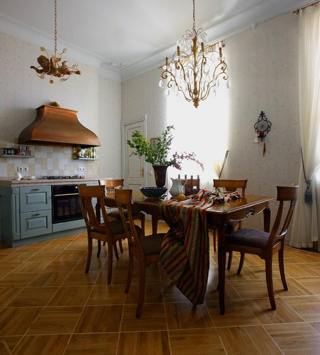 Фото № 10761 кухня  Квартира