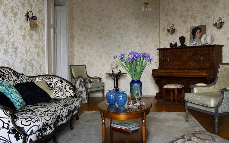 Фото № 10754 гостиная  Квартира