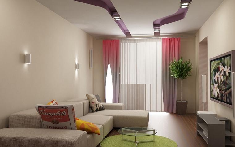 Квартира. гостиная из проекта , фото №10926