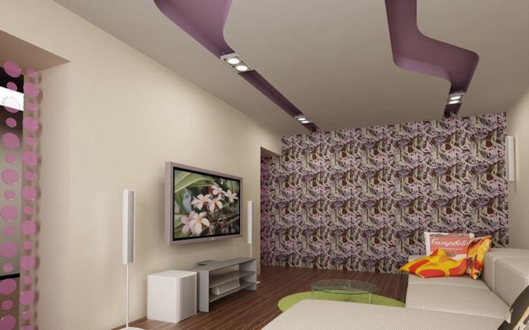 Квартира. гостиная из проекта , фото №10928