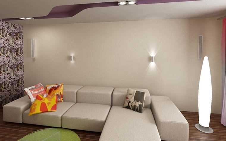 Квартира. гостиная из проекта , фото №10929