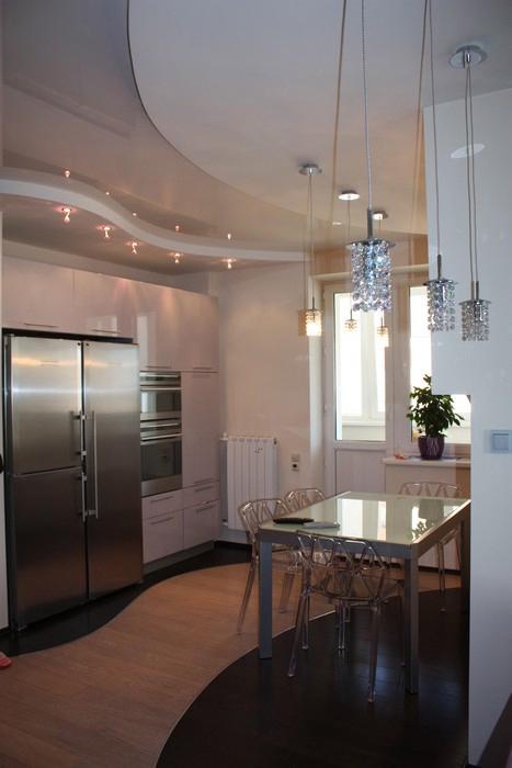 Квартира. кухня из проекта , фото №11261