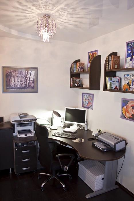 интерьер кабинета - фото № 11264