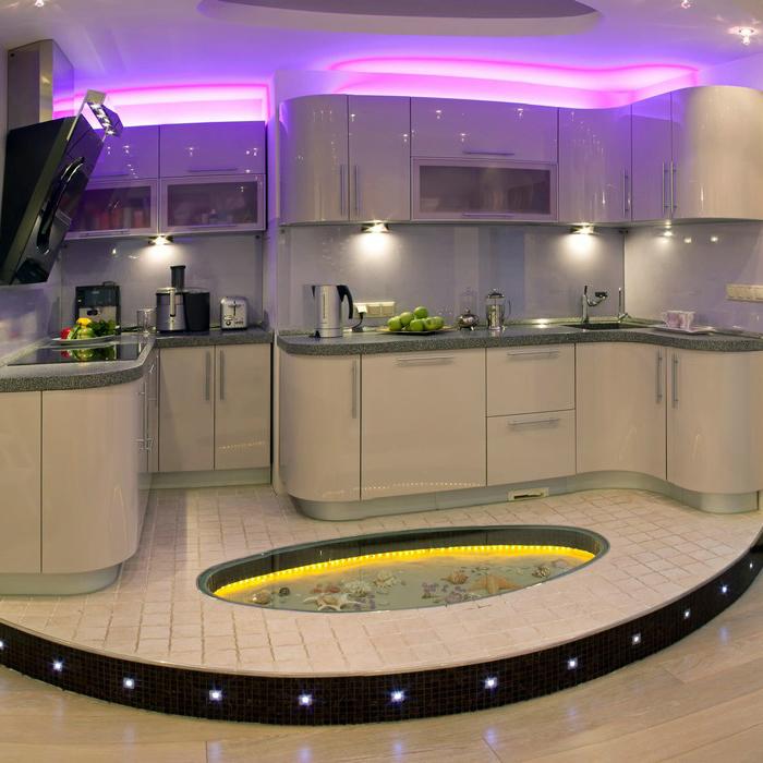 Квартира. кухня из проекта , фото №11263