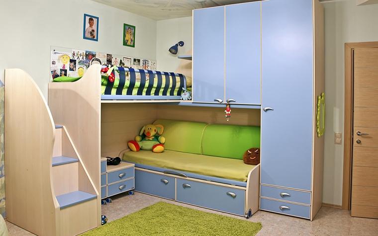 Квартира. детская из проекта , фото №11254
