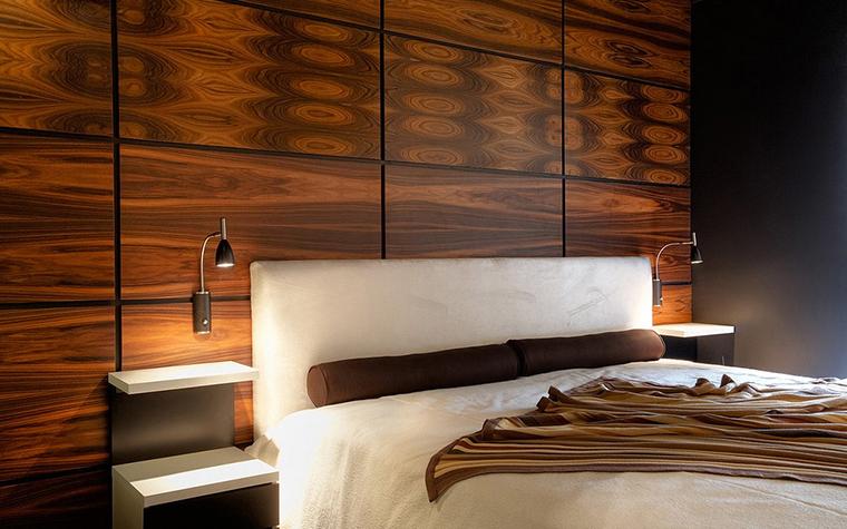 Квартира. спальня из проекта , фото №11358