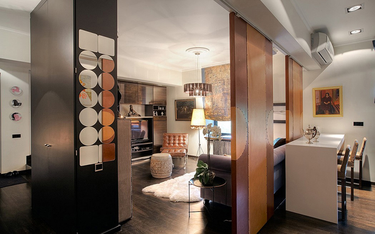 Фото № 11357 гостиная  Квартира