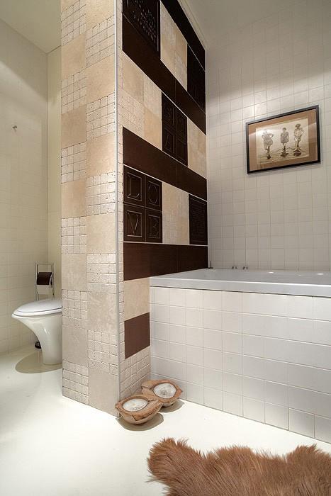 Квартира. ванная из проекта , фото №11382