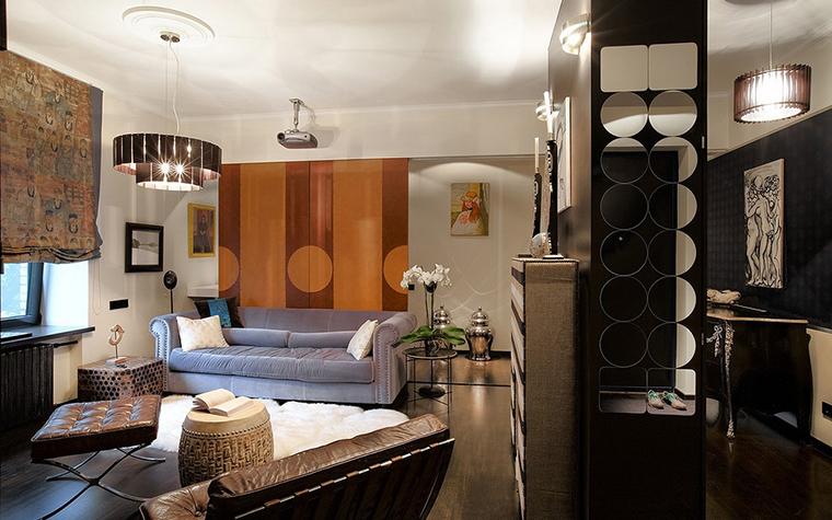 Квартира. гостиная из проекта , фото №11349