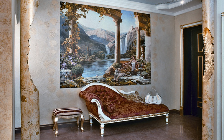 интерьер холла - фото № 11392