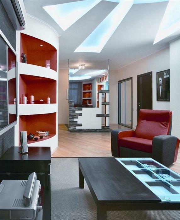 Квартира. гостиная из проекта , фото №11395