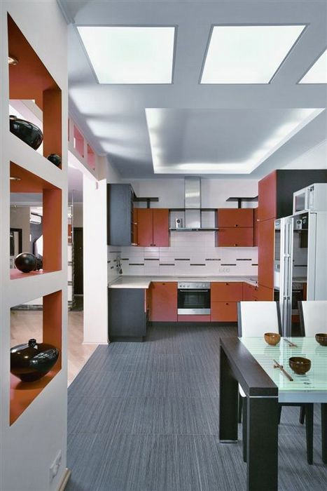 Квартира. кухня из проекта , фото №11396