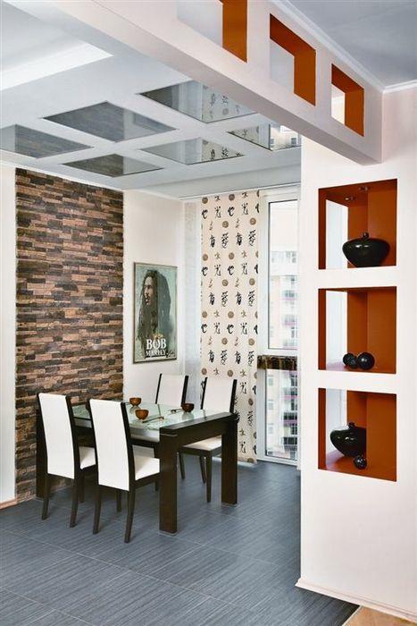 Квартира. кухня из проекта , фото №11397