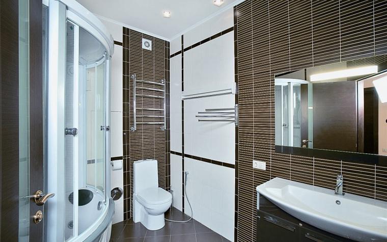 Квартира. ванная из проекта , фото №11399