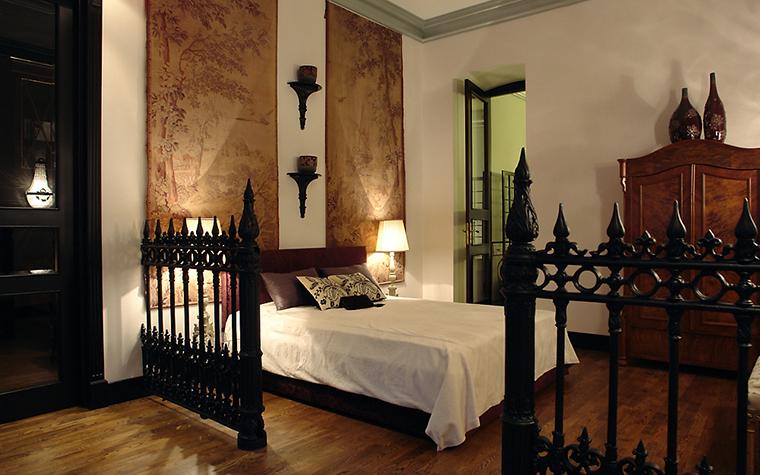 интерьер спальни - фото № 11414