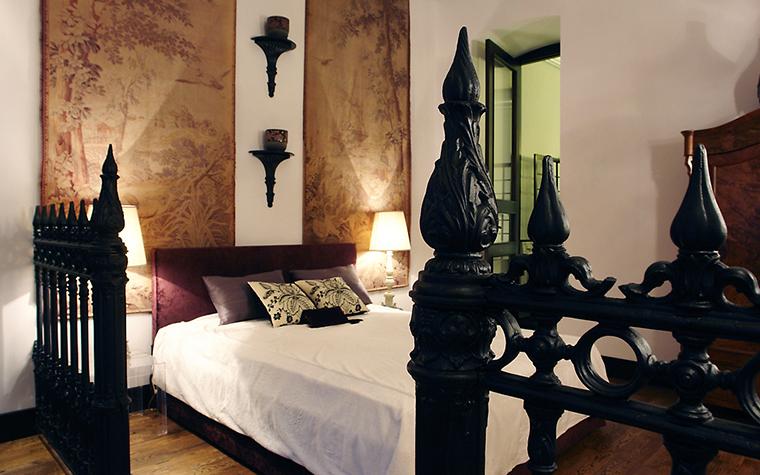 интерьер спальни - фото № 11415