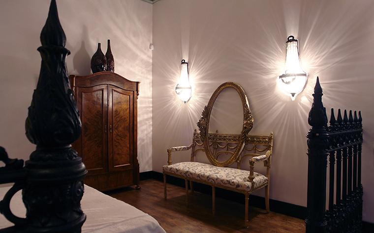 интерьер спальни - фото № 11416