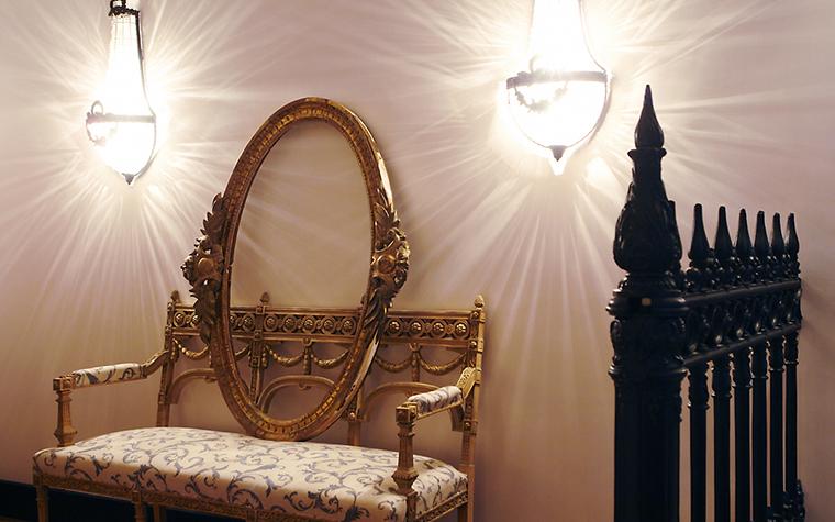 интерьер спальни - фото № 11417