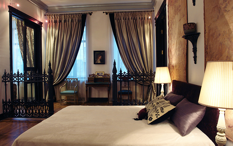 интерьер спальни - фото № 11420