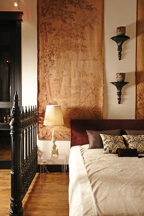 интерьер спальни - фото № 11424