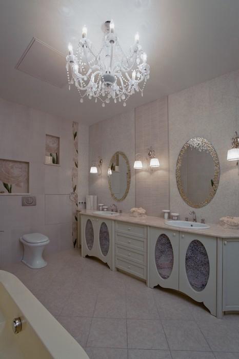 Квартира. ванная из проекта , фото №11516