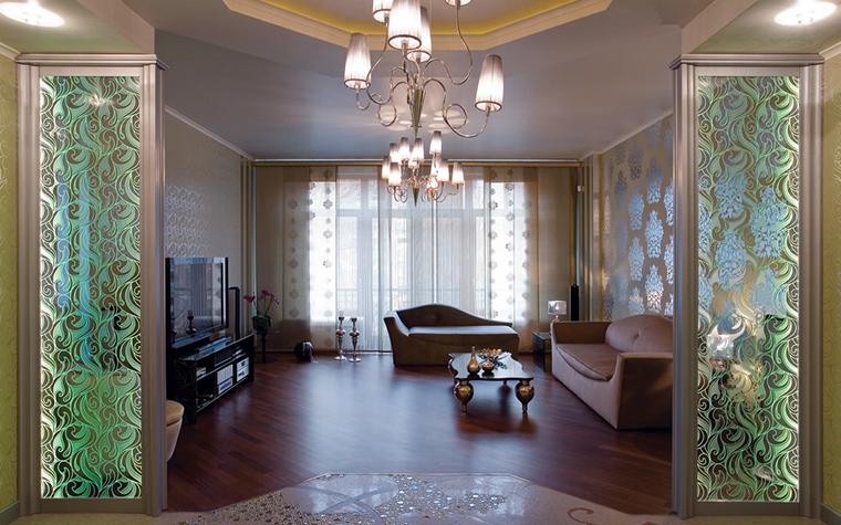 Квартира. гостиная из проекта , фото №11508