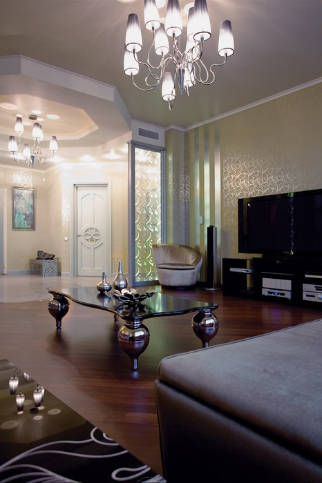 Квартира. гостиная из проекта , фото №11510