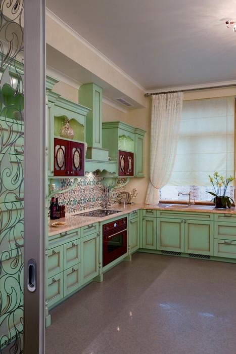 Квартира. кухня из проекта , фото №11513