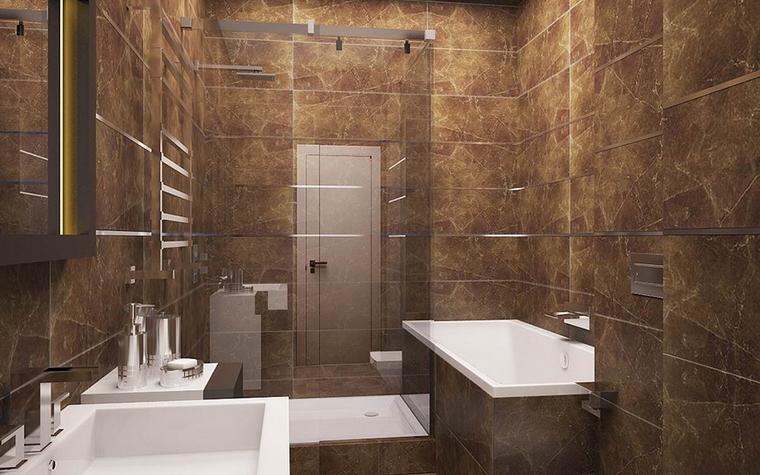 Квартира. ванная из проекта , фото №11525