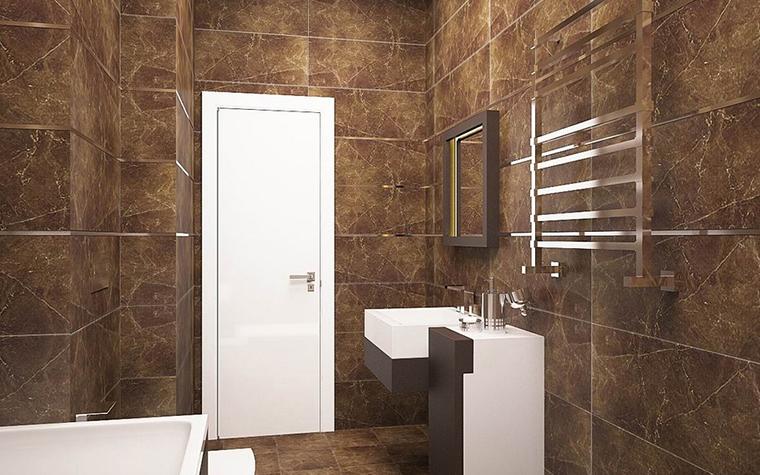 Квартира. ванная из проекта , фото №11526