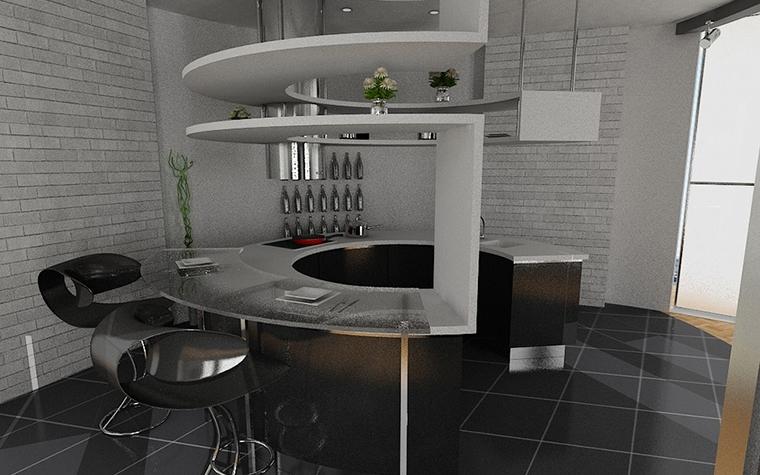 интерьер кухни - фото № 11534