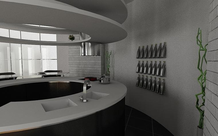 интерьер кухни - фото № 11535
