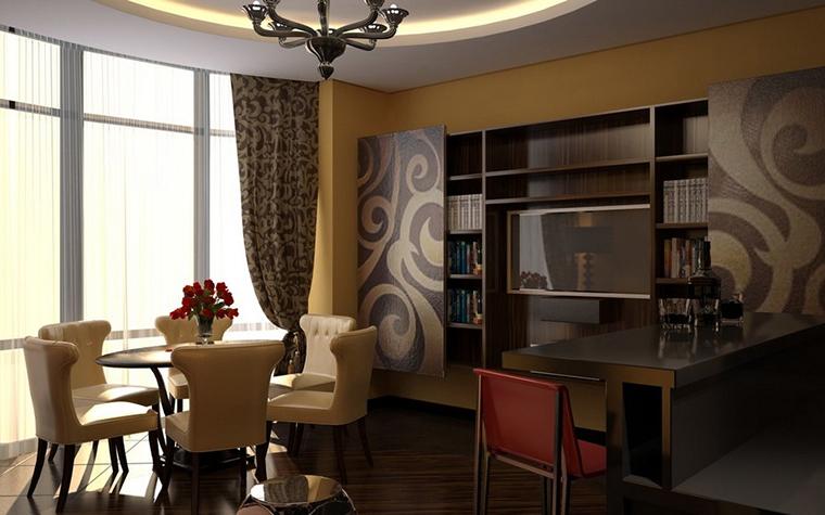интерьер гостиной - фото № 11552