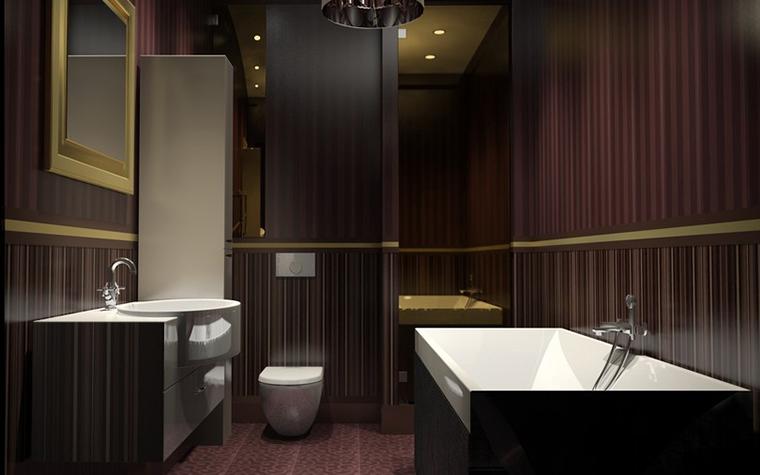 Квартира. ванная из проекта , фото №11551