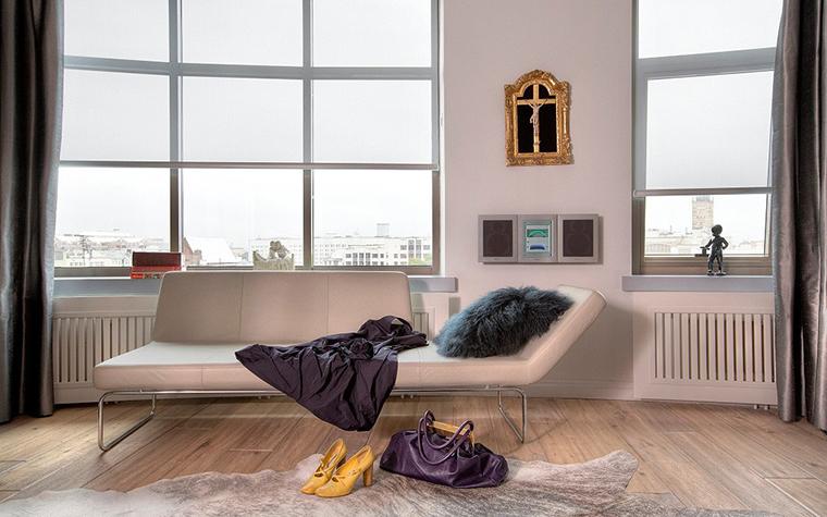 интерьер спальни - фото № 11639