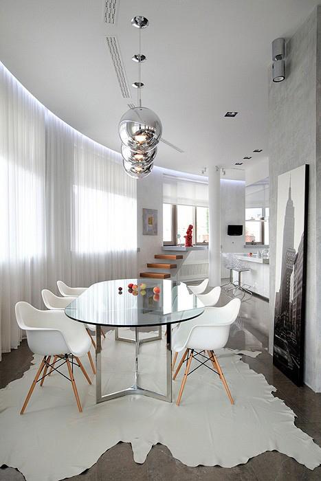 Квартира. столовая из проекта , фото №11657