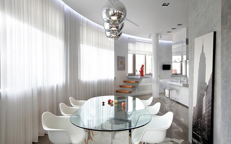 Квартира. столовая из проекта , фото №11658