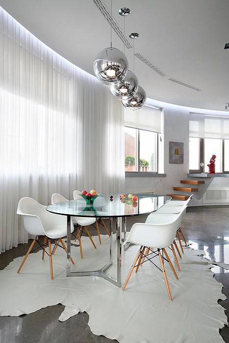 Квартира. столовая из проекта , фото №11660