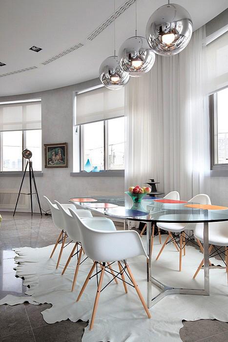 Квартира. столовая из проекта , фото №11662