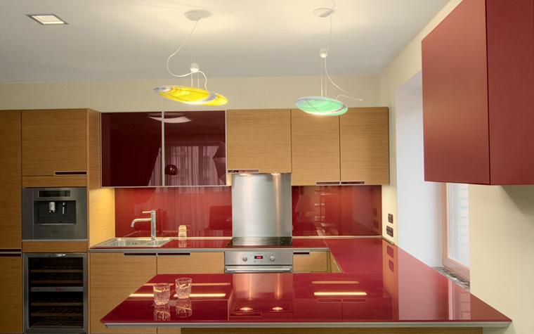 Квартира. кухня из проекта , фото №12277