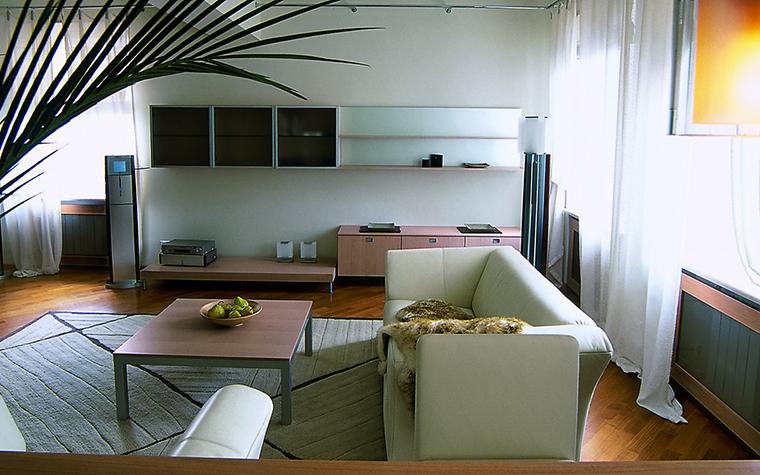 интерьер гостиной - фото № 12280