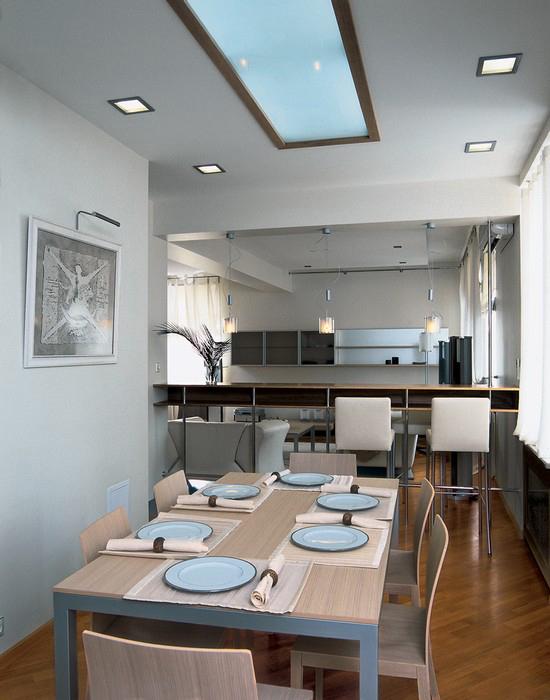 Квартира. столовая из проекта , фото №12283