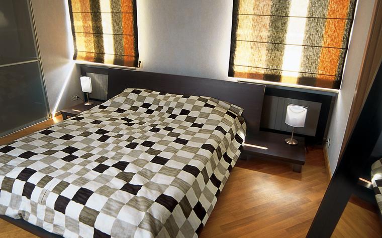 Квартира. спальня из проекта , фото №12285