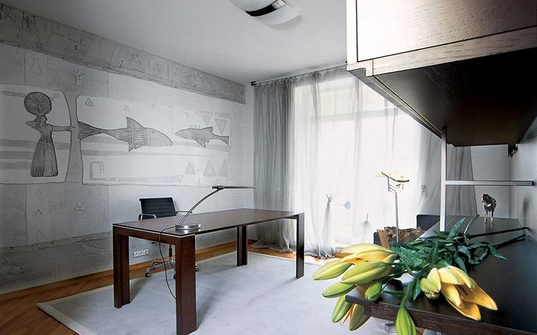 Квартира. кабинет из проекта , фото №12287