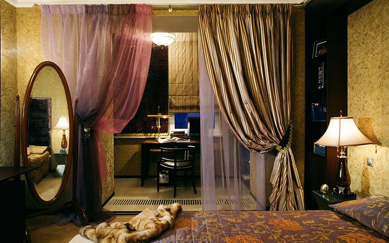 Квартира. спальня из проекта , фото №12349